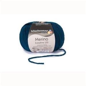 Merino extrafine 120  164 Blauw/groen