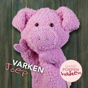 CuteDutch garenpakket handpop Varken Joep