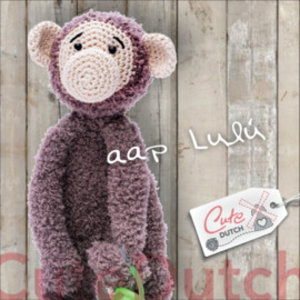 CuteDutch garenpakket Aap Lulú
