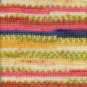 Fabel Print geel/roze (903)
