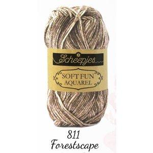 Softfun Aquarel Forestscape (811)