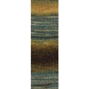 Mille Colori Socks & Lace 11 bruin / blauw