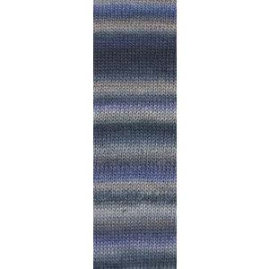 Mille Colori Socks & Lace Luxe 45 blauw / grijs