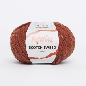 Scotch Tweed 72 Licht roodoranje