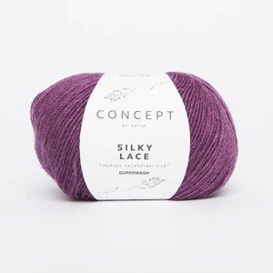 Silky Lace 171 Parelmoer/licht violet