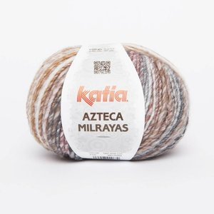 Azteca Milrayas 710 Ecru/grijs/beige/wijnrood