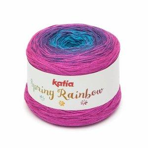 Spring Rainbow Blauw/Paars/Fuchsia (63)