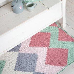 Durable Haakpatroon vloerkleed/speelkleed