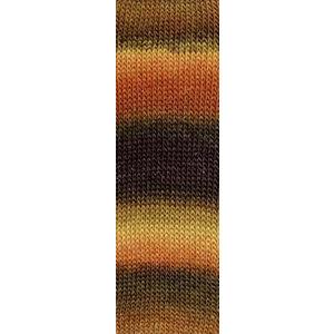 Mille Colori Socks & Lace Luxe 68 Bruin/Oranje