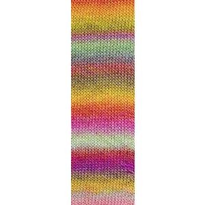 Mille Colori Socks & Lace Luxe 53 Roze/Mint/Geel
