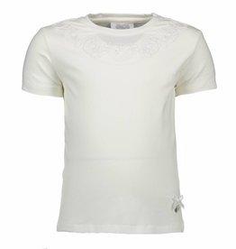 Le chic Le Chic Shirt Print Off White / Zilver