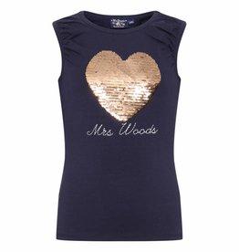 Mr Woods Mrs Woods Top Navy