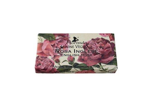 Savon Sapone Vegetale 100g English Rose