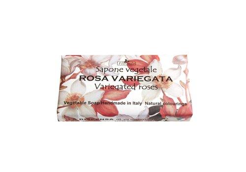 Savon Sapone Vegetale 100g Variegated Roses