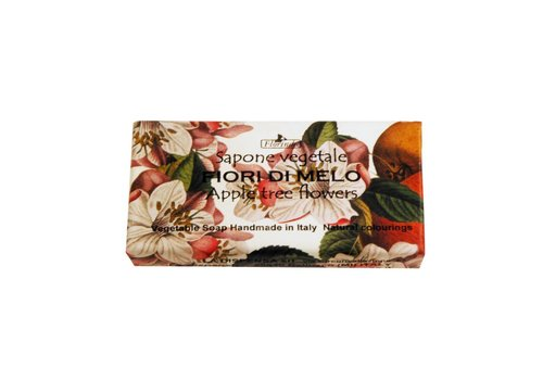 Savon Sapone Vegetale 100g Appletree Flowers