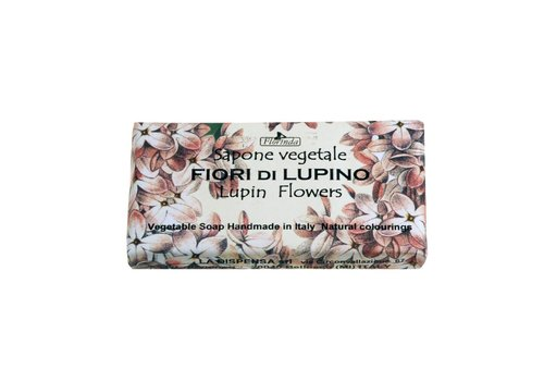 Savon Sapone Vegetale 100g Lupin Flowers