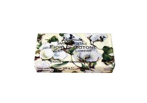 Savon Sapone Vegetale 100g Cotton Flower