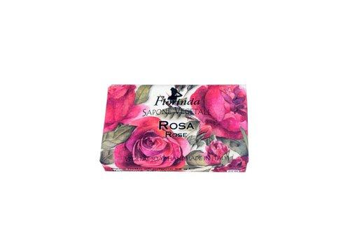 Savon Sapone Vegetale Zeep 50 Gram Rosa