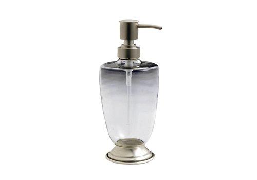 "Au Bain de Marie Kom Amsterdam Soap Dispenseer ""Au Bain de Marie"" Glass/Metal"