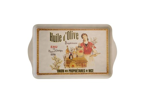 French Classics Serviertablett Huile d'olive Superieure 20X33cm Metall