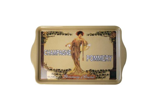 "French Classics French Classics Serving Tray Metal 20x33 cm ""Champagne Pommery"""