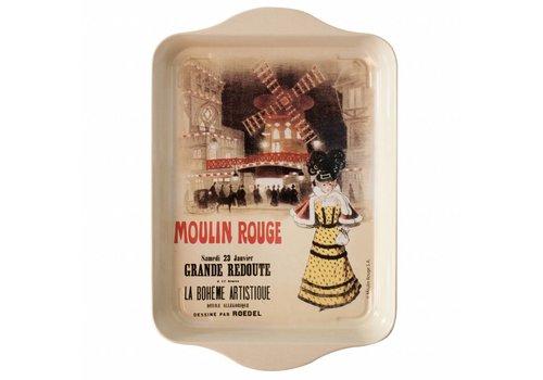 French Classics Miniserviertablett Moulin Rouge 21x14 cm