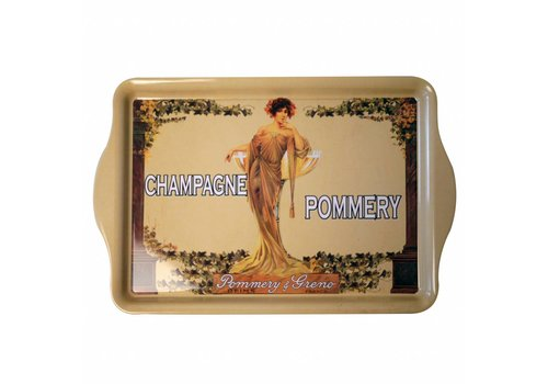 French Classics Small Tray Metal 21x14 cm Champagne Pommery