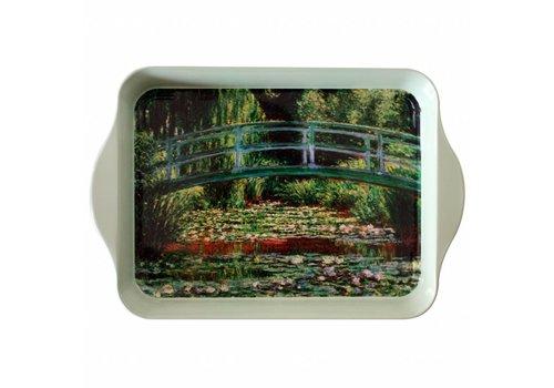 French Classics Miniserviertablett 21x14 cm Monet Metall