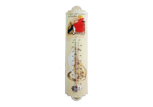 French Classics Thermometer Lait Pur Metall