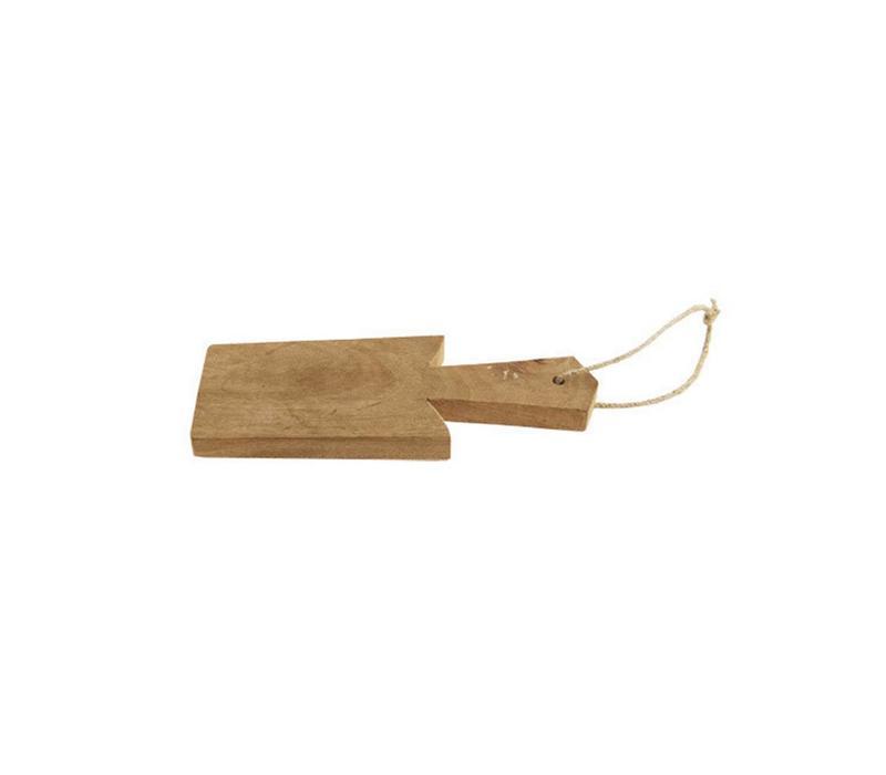 Cutting Board Garlic Wood