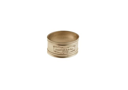 Grand Cafe de la Gare Napkin Ring ø5 cm Grand Café