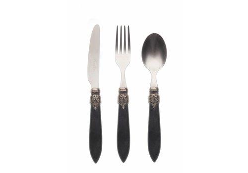 Murano Breakfast Cutlery Set (3-piece) Murano Matt Black