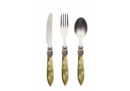 Murano Breakfast Cutlery Set (3-piece) Murano, Olive