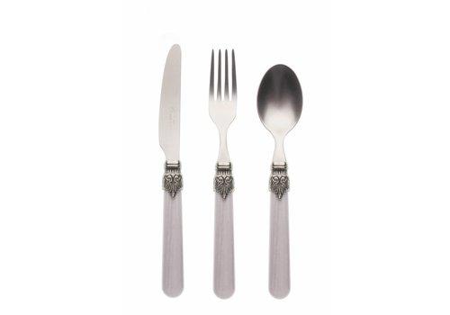 Vintage Breakfast Cutlery Set (3-piece) Vintage Smoke
