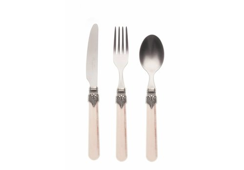 Vintage Breakfast Cutlery Set (3-piece) Vintage, Sand