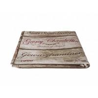 """Kom Amsterdam Table Cloth """"Vins"""" 155x250 cm, Brown"""