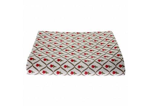 """Kom Amsterdam Kom Amsterdam Table Cloth """"Tulip"""" 150x250 cm, Red"""
