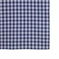 "Kom Amsterdam Tablecloth  ""Check"" 150x250 cm, Blue"