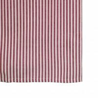 "Kom Amsterdam Tablecloth ""Stripe"" 150x250 cm, Red"