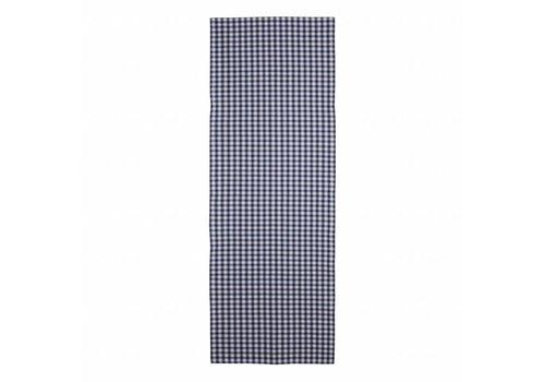 Kom Amsterdam Tischläufer 45x150 cm Check Blau