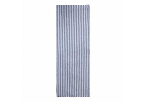Kom Amsterdam Tafelloper Smalle Streep 45x150 cm Feston, Blauw