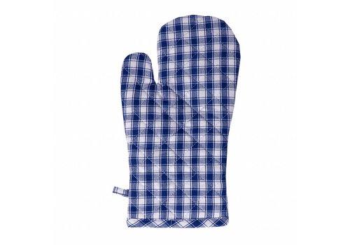Kom Amsterdam Oven Glove, Thermal Lining Feston, Blue