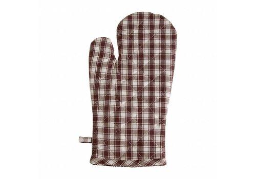 Kom Amsterdam Oven Glove, Thermal Lining Feston, Grey