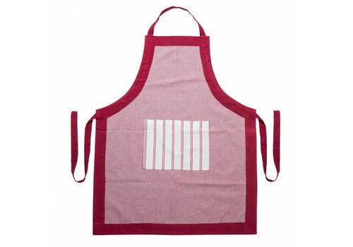 Kom Amsterdam Apron, Adjustable Length Feston, Red