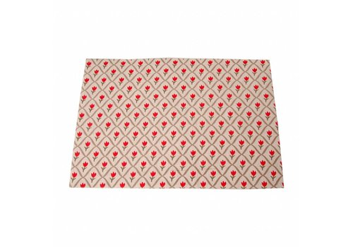 Kom Amsterdam Placemat 33x47 cm Tulip, Rood