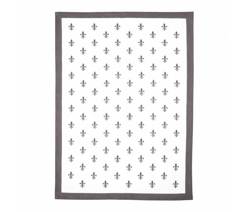 Campagne Set 2 Dish Towels 50x70 cm Grid, Sand