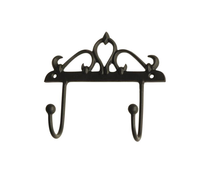 French Kitchen Collection Double Hook 14xH13 cm Iron