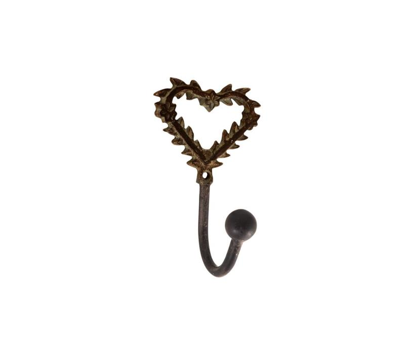 French Kitchen Collection Mini Hook 10cm Iron Antic