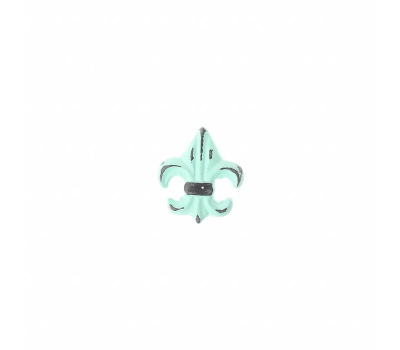"VK4M French Kitchen Collection ""Vintage"" Knob, Mint Green"
