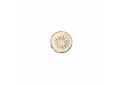 French Kitchen Collection VH3C Vintage Deurknop IJzer, Crème